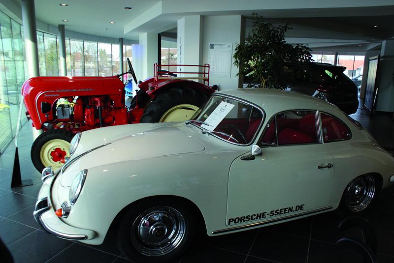 """Porsche Zentrum 5 Seen, Gilching – """"In der dritten Generation"""""""