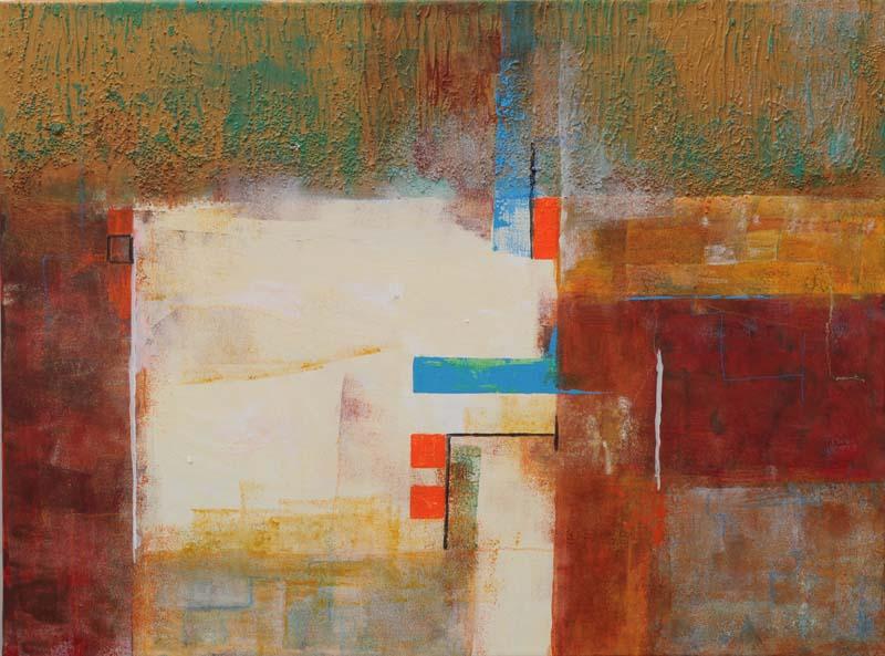 Werner Beetz, Künstler – Zwischen Figuration und Abstraktion