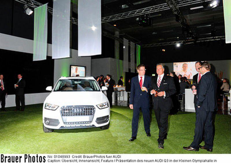 München: Der Audi Q3 eröffnet neue Welten