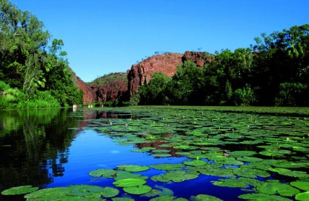 Mitten im Outback und ganz weit im Nordwesten von Queensland liegt der Lawn Hill Nationalpark (Foto: images.australia.com)