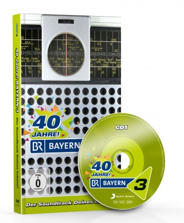 40 Jahre BAYERN 3 Jubiläumsbox