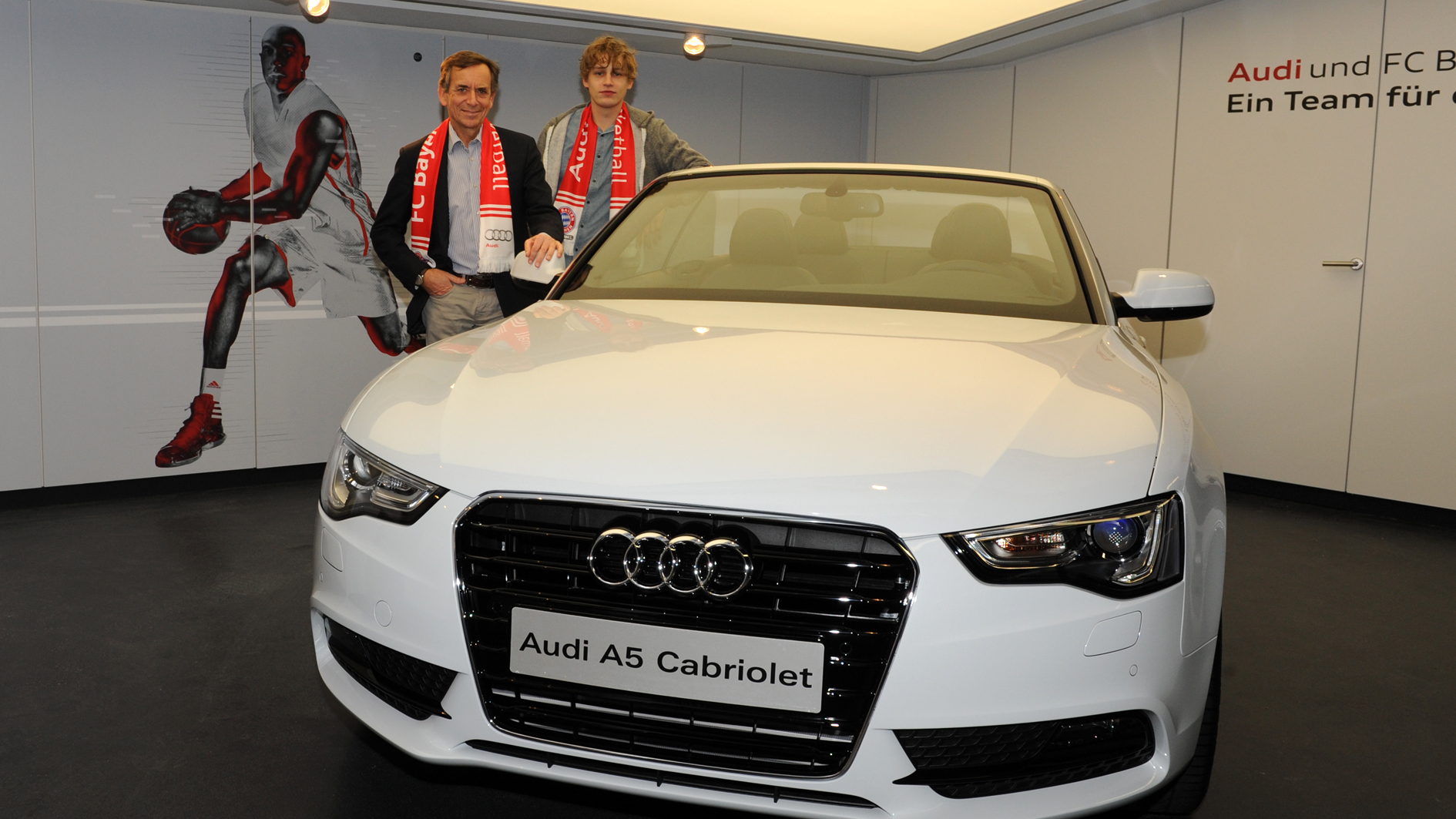 Audi präsentierte FC Bayern München Basketball – BBC Bayreuth