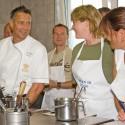 Kochkurs mit Reiner Fischer im Relais  Châteaux Villino - (Foto: Relais Châteaux M. Pejot)