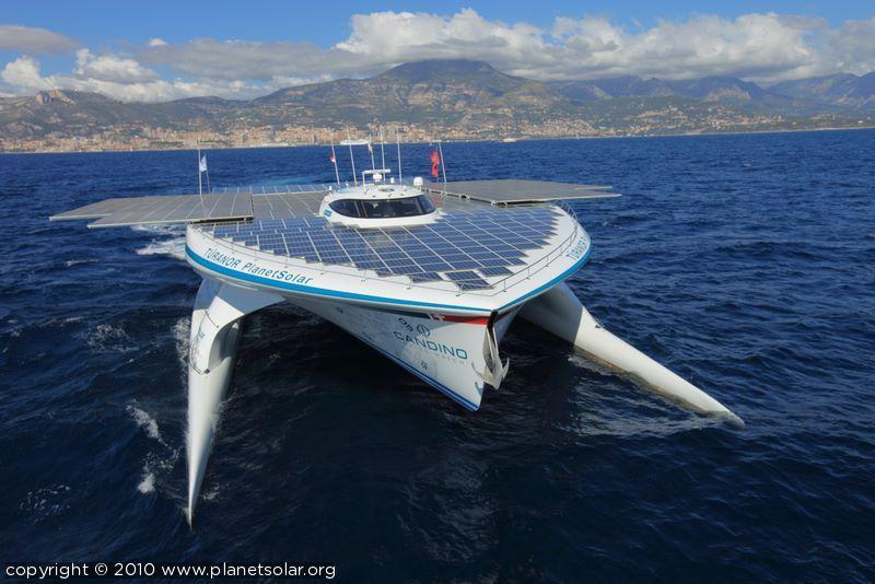 TÛRANOR PlanetSolar – Die erste Weltumrundung mit Solarenergie…