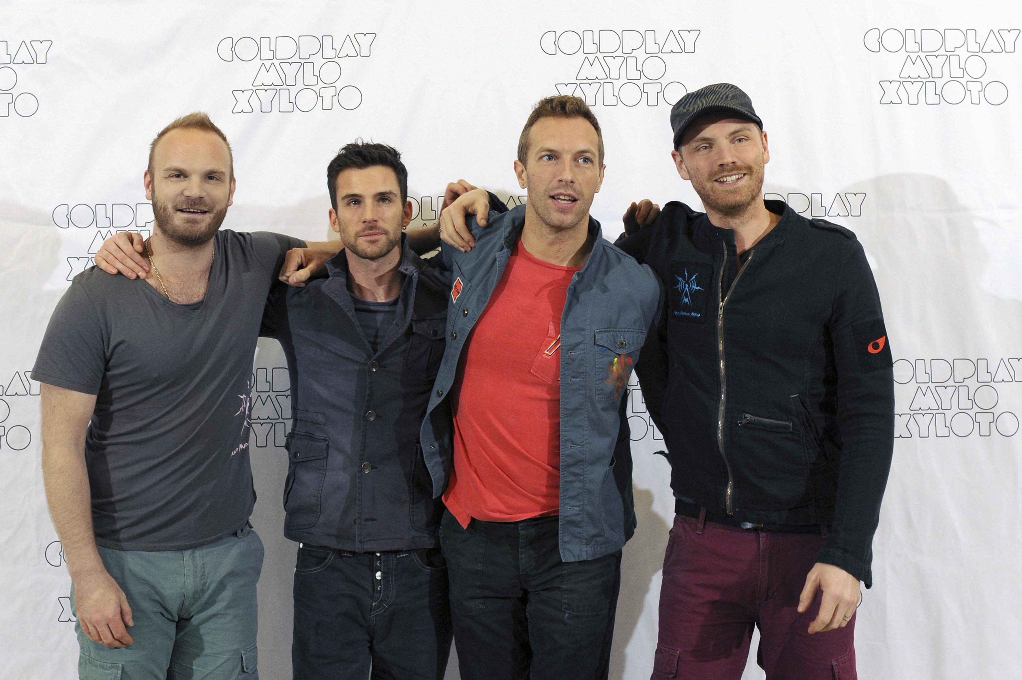 """Coldplay – """"Live 2012 in Deutschland"""""""