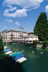 Das Traditionshotel Baur au Lac in Zürich