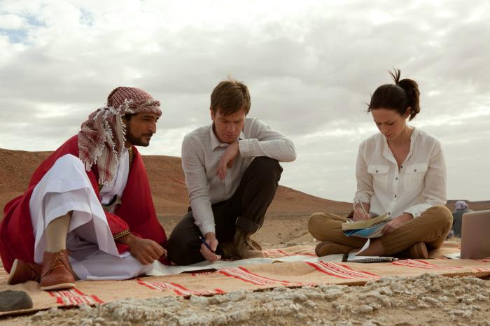 """Ab 17. Mai 2012 im Kino: """"Lachsfischen im Jemen"""""""