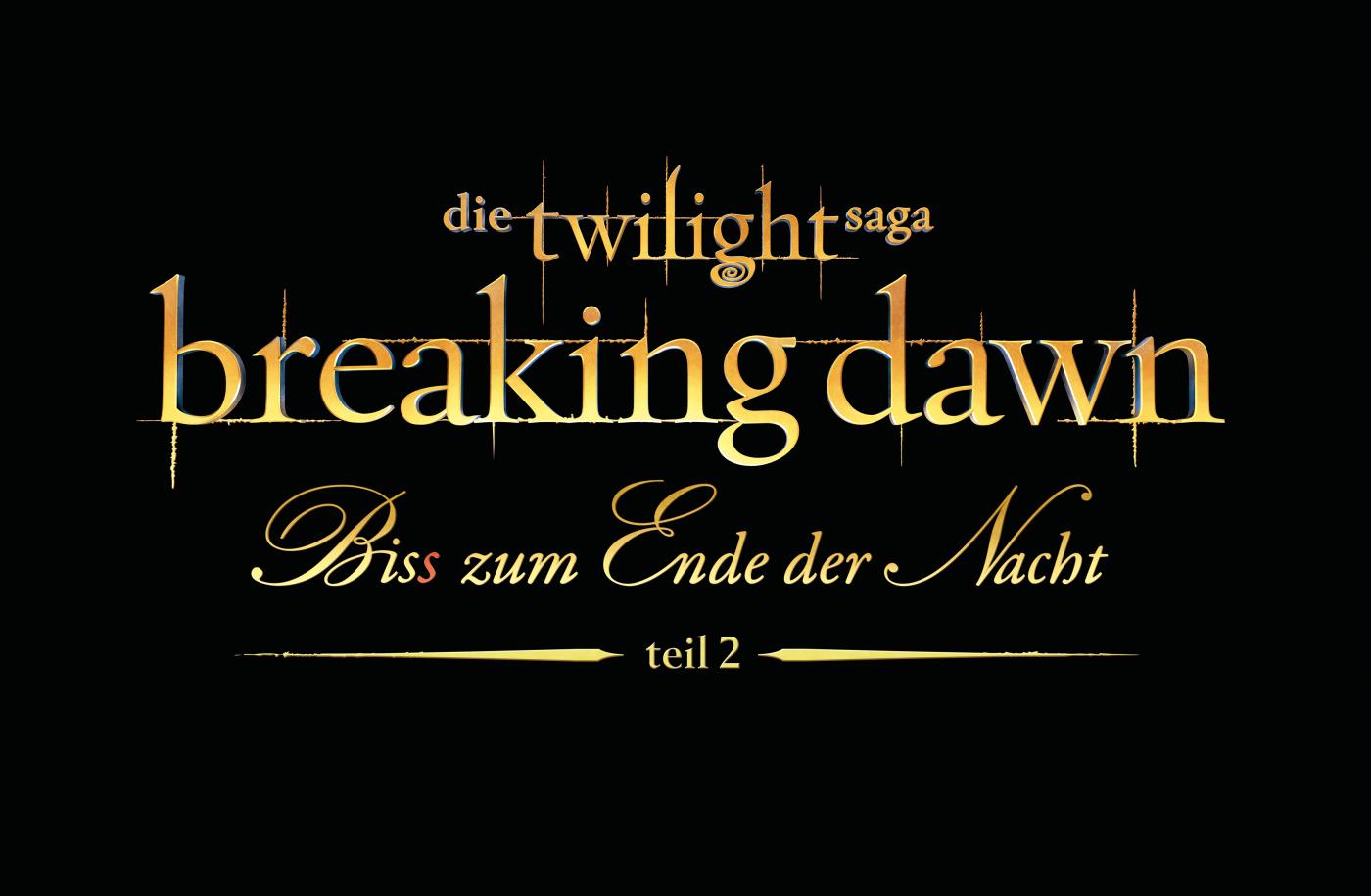 """BREAKING DAWN – Der letzte Teil der """"Twilight""""-Saga ab 22. November 2012 im Kino"""
