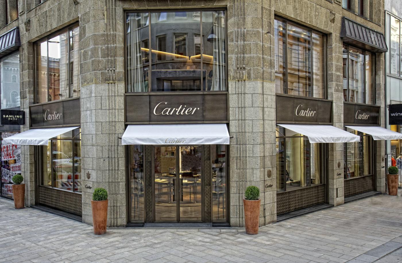 Cartier, Hamburg – Die Cartier Boutique erstrahlt in neuem Glanz