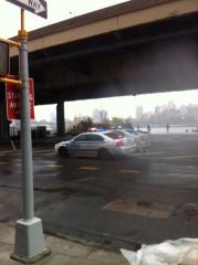 NY, Manhattan am 31.10.2012 nach Wirbelsturm Sandy