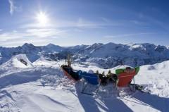 Skiszene im Skigebiet Obertauern, Obertauern, Salzburger Land, …sterreich.