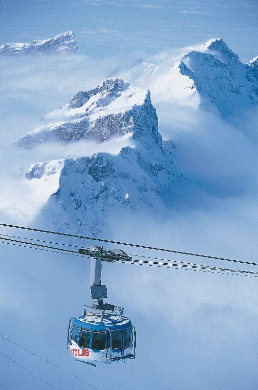 Engelberg, Zentralschweiz – Die höchstgelegene Hängebrücke Europas wurde eröffnet