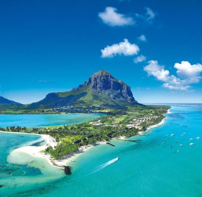 Golfspielen im Paradies – Mauritius