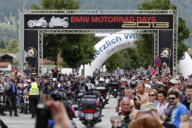 BMW Motorrad Days – Besucherrekord beim größten BMW Motorrad Treffen der Welt