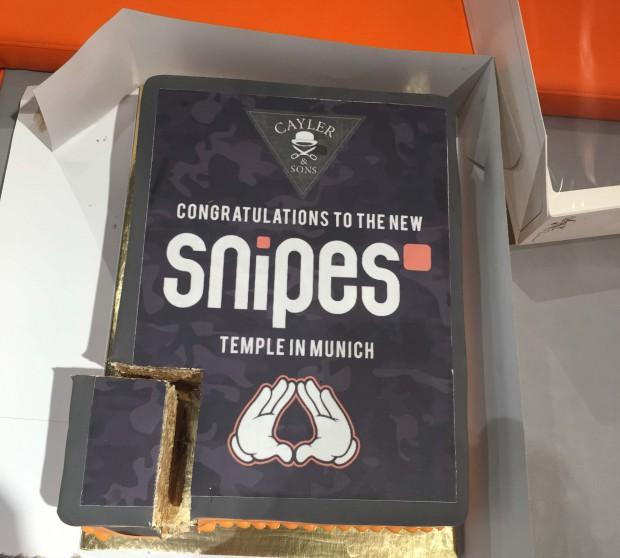 Snipes Eröffnung München 09